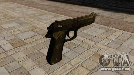 Halbautomatische Pistole Beretta 92 für GTA 4 Sekunden Bildschirm