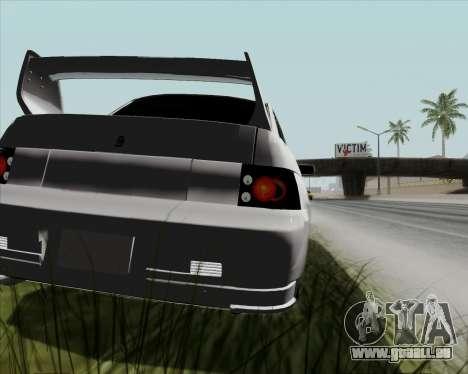 VAZ 2110 v2 pour GTA San Andreas vue arrière