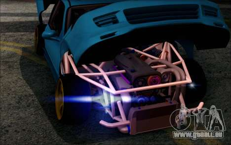 Honda Civic EG6 Tube Frame pour GTA San Andreas vue arrière