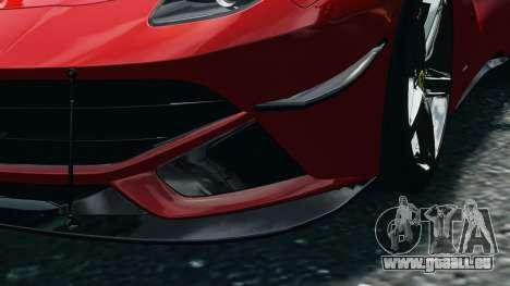 Ferrari F12 Berlinetta 2013 Modified Edition EPM pour GTA 4 est une vue de l'intérieur