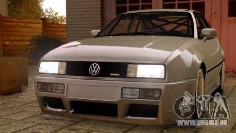 Volkswagen Corrado VR6 1995 pour GTA 4 est un droit