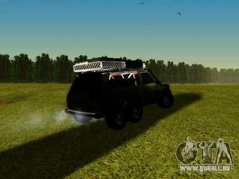 VAZ 212140 Hunter pour GTA San Andreas laissé vue