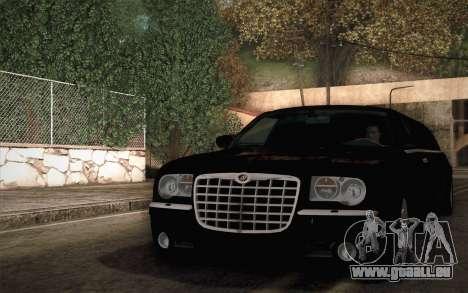 Chrysler 300C Limo 2007 pour GTA San Andreas vue de droite