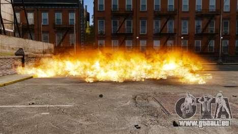 Le nouveau paramètre d'incendies et d'explosions pour GTA 4