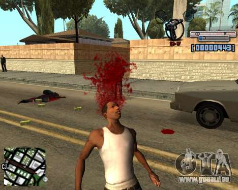 C-HUD by olimpiad für GTA San Andreas dritten Screenshot
