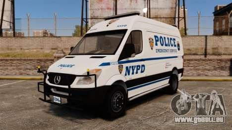Mercedes-Benz Sprinter 3500 Emergency Response für GTA 4