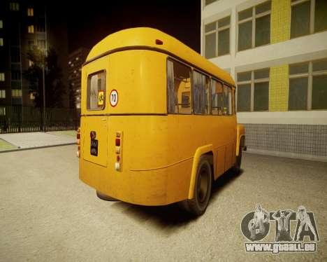 KAVZ-685-Schule für GTA 4 hinten links Ansicht
