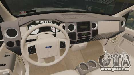 Ford F-350 Pitbull v2.0 für GTA 4 Rückansicht