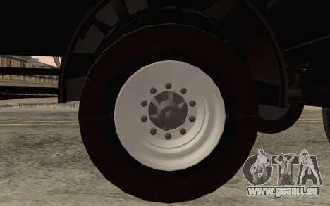 Nefaz de DB2 pour GTA San Andreas vue de droite