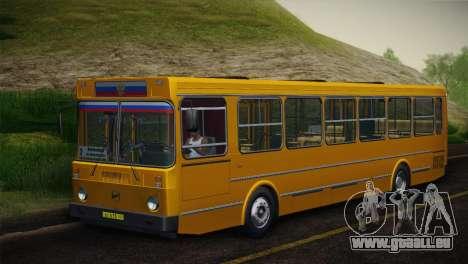 LIAZ 5256.00 Skin-Pack 5 pour GTA San Andreas vue de droite