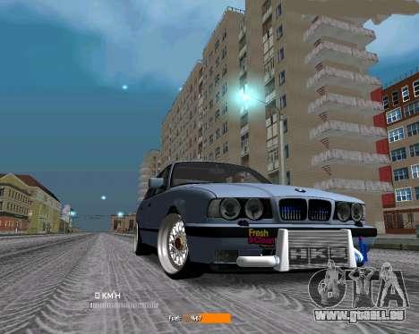 BMW E34 JDM pour GTA San Andreas
