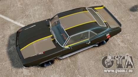 Chevrolet Camaro Z28 pour GTA 4 est un droit