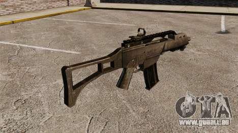 Angriff Gewehr G36C für GTA 4 Sekunden Bildschirm