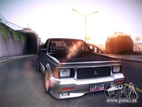 Mitsubishi Cyclone für GTA San Andreas linke Ansicht