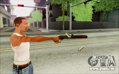 Fusil de chasse halim-12 pour GTA San Andreas troisième écran