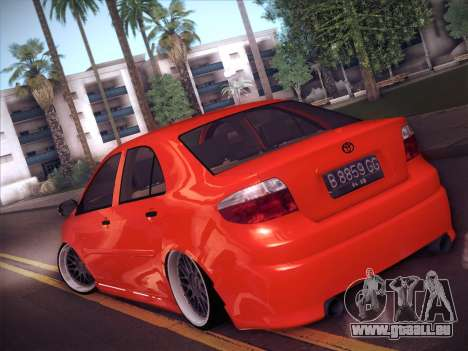 Toyota Vios Modified Indonesia für GTA San Andreas linke Ansicht