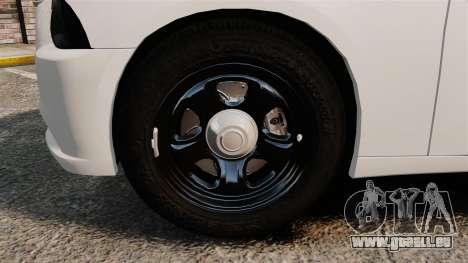 Dodge Charger 2014 für GTA 4 Rückansicht