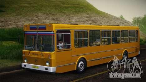 LIAZ 5256.00 Skin-Pack 5 pour GTA San Andreas vue intérieure