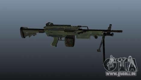 C9-Maschinengewehr für GTA 4 dritte Screenshot
