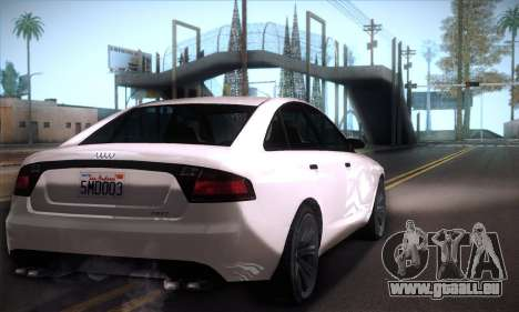 GTA V Tailgater für GTA San Andreas rechten Ansicht