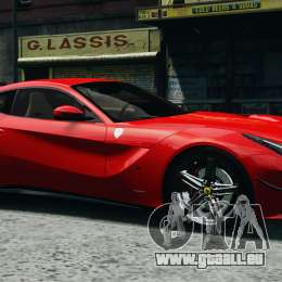 Ferrari F12 Berlinetta 2013 Modified Edition EPM für GTA 4 obere Ansicht