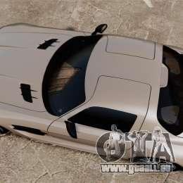 Mercedes-Benz SLS AMG Black Series 2014 pour GTA 4 est un droit