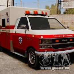 Iranische Krankenwagen für GTA 4