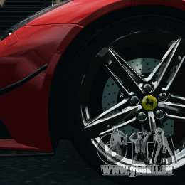 Ferrari F12 Berlinetta 2013 Modified Edition EPM für GTA 4 Rückansicht
