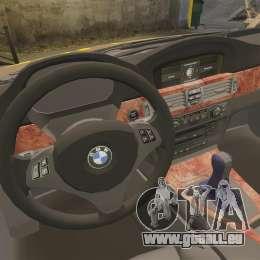 BMW 350i Indonesia Police v2 [ELS] pour GTA 4 est un côté