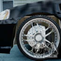 Honda Civic FnF für GTA 4 rechte Ansicht