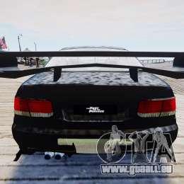 Honda Civic FnF für GTA 4 Rückansicht