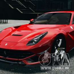Ferrari F12 Berlinetta 2013 Modified Edition EPM pour GTA 4