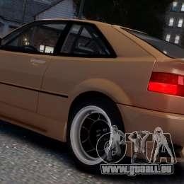 Volkswagen Corrado VR6 1995 für GTA 4 obere Ansicht