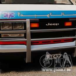 Ambulance iranienne pour GTA 4 est un droit