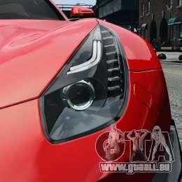 Ferrari F12 Berlinetta 2013 Modified Edition EPM pour GTA 4 est un côté