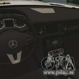 Mercedes-Benz SLS AMG Black Series 2014 pour GTA 4 est un côté