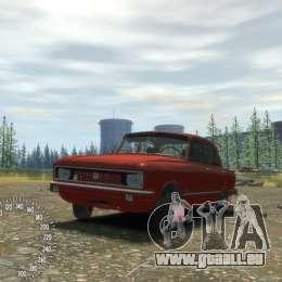 AZLK 2140 Tuning pour GTA 4