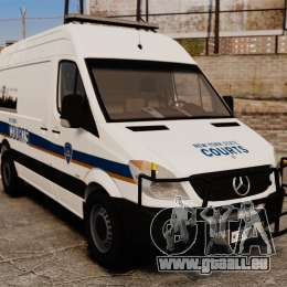 Mercedes-Benz Sprinter 2500 Prisoner Transport für GTA 4