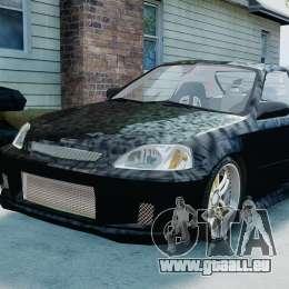 Honda Civic FnF für GTA 4