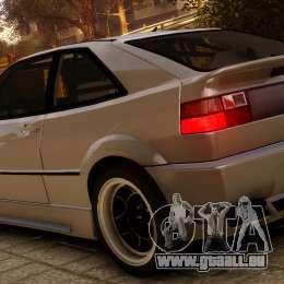 Volkswagen Corrado VR6 1995 für GTA 4 linke Ansicht