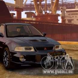 Mitsubishi Lancer Evolution VI GSR 1999 pour GTA 4