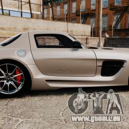 Mercedes-Benz SLS AMG Black Series 2014 für GTA 4 linke Ansicht