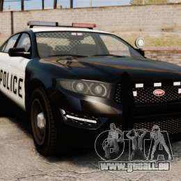 GTA V Vapid Police Interceptor [ELS] für GTA 4