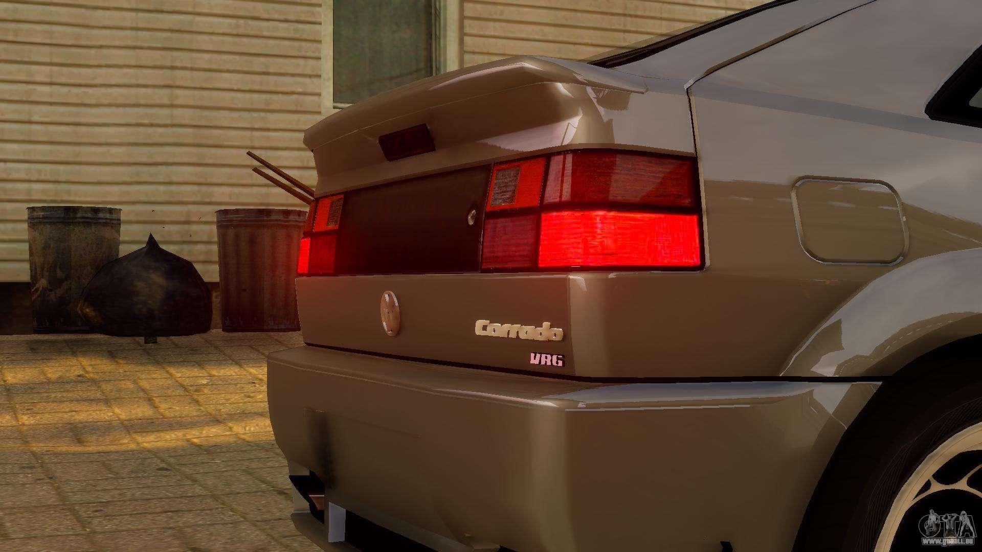 Volkswagen corrado vr6 1995 pour gta 4 for Entreposage interieur pour vr