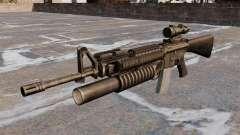 Le fusil d'assaut M16A4