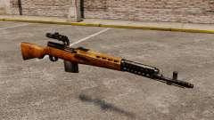Chargement automatique fusil Tokarev 1940