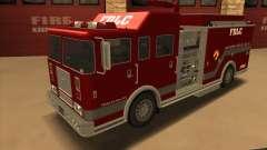 Firetruck HD from GTA 3 für GTA San Andreas