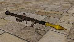 Amerikanische Panzerabwehr-Granatwerfer RPG-7