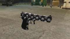 Pistolet Desert Eagle Skull