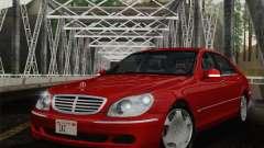 Mercedes-Benz S600 Biturbo 2003 für GTA San Andreas